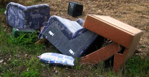 Fly tipping areas